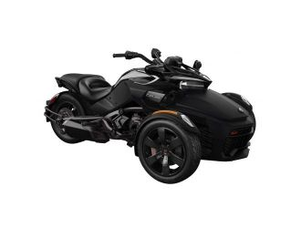 Can-Am Spyder F3-S SE6 Monolith Black Satin '19