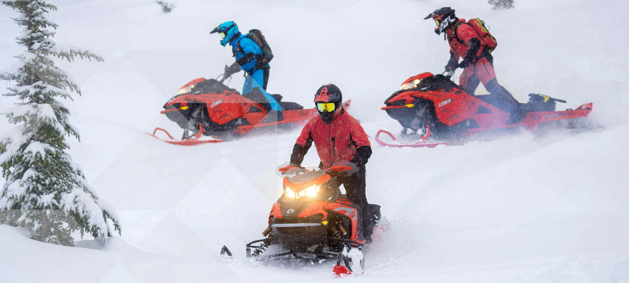 Banner SNOWMOBILE Polaris 2021 1