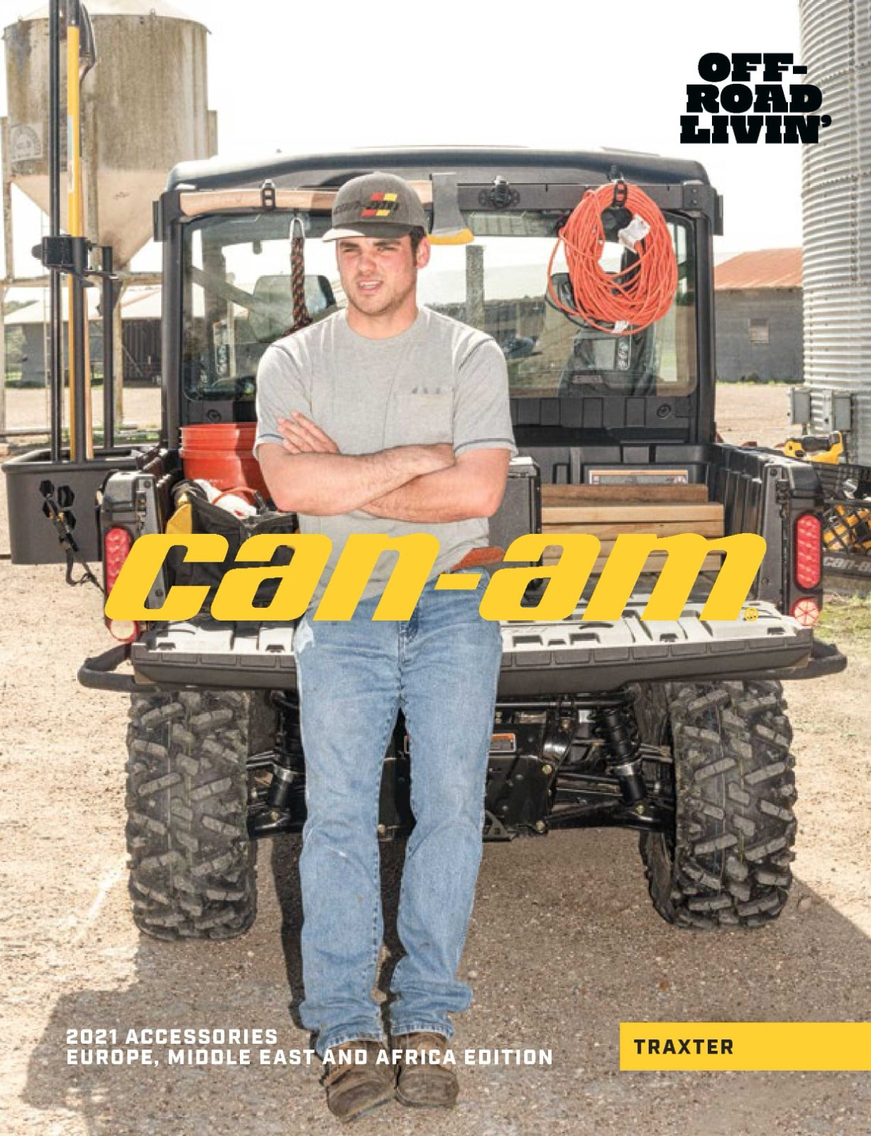Catalog accesorii Can-Am Traxter 2021